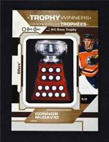 2019-20 UD O-Pee-Chee Trophy Winner Relic #P-P-36 Connor McDavid - Oilers