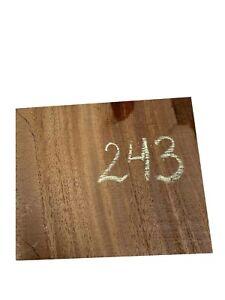 "African Mahogany Turning Wood Bowl Blank Lathe Wood Block 6"" x 5"" x 3"", #243"