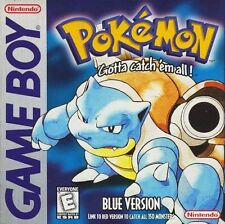 Pokemon Blue Version Gameboy Great Condition Fast Shipping