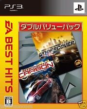 Used PS3 Need for Speed: Carbon + Under SONY PLAYSTATION 3 JAPAN JAPANESE IMPORT