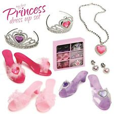 Princess Toddler Dress Up Shoes Costume Shoes Toys For Girls Set Disney Princ...