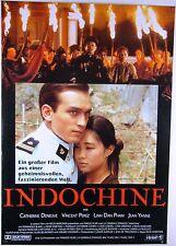 INDOCHINE Catherine Deneuve, Vincent Perez - Filmplakat DIN A1 (gerollt)