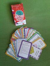 52 giochi per diventare un genio. Carte Illustrate Idea Regalo