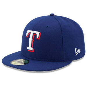 New Era 5950 Youth Texas Rangers GAME Fitted Hat (Royal Blue) MLB Kid's Cap