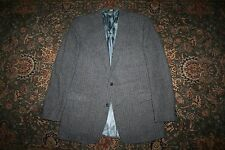 RECENT Chipp Gray Tweed Woven Wool Two Button Sport Coat 42 43 L