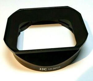 JJC LH-X23 Square Metal Lens Hood Shade for Fujifilm Fuji XF 23mm F1.4 R