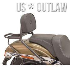 Schienalino con portapacchi nero Harley Davidson Fat Bob 1690 FXDF 2014-2017