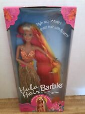 Hula Hair Barbie/ 1996/ Jointed Knees And Elbows/Turn Waist