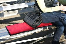 Seating pad, bench pad, bleacher pad, seat cushion, water proof, compact