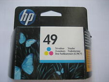 Color HP 49 HP 51649ae hp49 HP N. 49 51649 AE a 51649a EXP. 04-2017 prodotto NUOVO OVP
