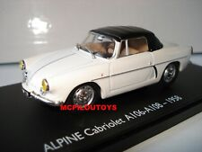 ELIGOR RENAULT ALPINE A106 - A108 CABRIOLET 1958 au  1/43°