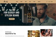 Beard Store Professional Dropshipping Website Ready Made Business For Sale