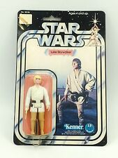 Star Wars Luke Skywalker 12 Back B MOC Vintage Kenner