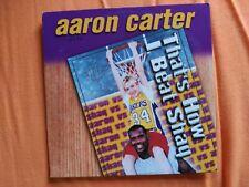 CD SINGLE AARON CARTER - THAT'S HOW I BEAT SHAQ - JIVE EUROPE 2001 EX