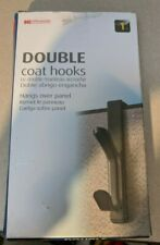 Oic Over the Panel Coat Hooks (Gray)