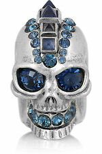 New Alexander McQueen Punk Skull Ring