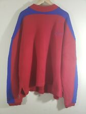 Vintage Fubu Sports Sweater Red Blue Stylish Size L Made In Korea