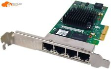Dell 0THGMP 4-Port Gigabit Ethernet Adapter Card Full Profile Bracket