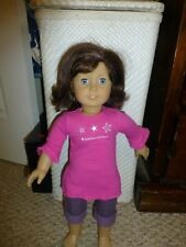 "American Girl 18"" Doll LINDSEY 2001 GOTY - FIRST GOTY; missprint tag"