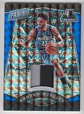 ANDREW WIGGINS 2017 Panini National NSCC Gold Pack PATCH #25/25 Timberwolves