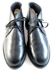 "Allen Edmonds ""CYRUS"" Men's Leather Chukka Boots 8.5 D Black Made in USA (604)"