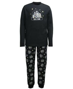 Matching Family PJs NYC New York Snow-Globe Christmas Pajama Set - 2XL #6996