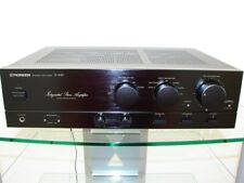 Pioneer A-449 Powerful Amplifier, Black, 2 x 100 w DIN, 12 MONTHS WARRANTY