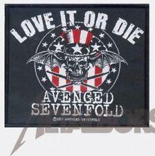 "Avenged Sevenfold "" Love It Or La / LES "" Patch / PATCHES 602082 #"
