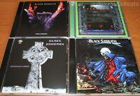 4CD set  BLACK SABBATH - Headless Cross / Tyr / Cross Purposes / Forbidden