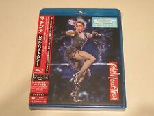"MADONNA ""REBEL HEART TOUR"" JAPAN LIVE BLU-RAY +BONUS TRACK UIXO-1001 ""SEALED"""