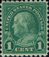 #581 1923 1 CENT PERF10 ISSUES MINT-OG/H--VF/XF