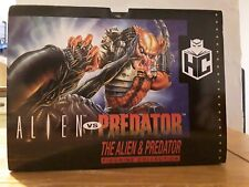 Eaglemoss Alien Vs Predator Collector Set Brand New RARE SNES Edition