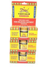 (Lot of 3)🆕Tiger 🐯Balm Red Extra Strength Pain Relieving Ointment  .63 oz 🔥🔥