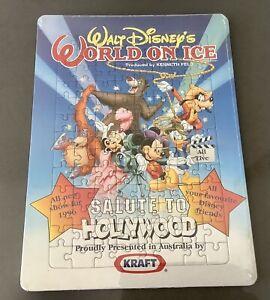 Disney's World On Ice Puzzle Jigsaw 1996 Show Souvenir Kraft New Sealed