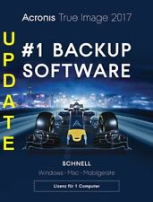 Acronis True Image 2017 Backup & Recovery,Update PC/Mac, Dauerlizenz, ESD, KEY