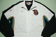 Detroit Pistons Vtg 90s Nike Deadstock Team Game Issue 1998-99 Warm Up Jacket