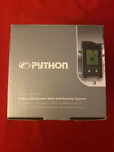 Directed Python 5706P 2-Way Alarm Remote Start Security System LCD Keyless Entry
