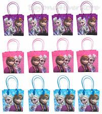 12PC Disney Frozen Ana & Elsa Goody Bags Birthday Party Favors Gift Bags