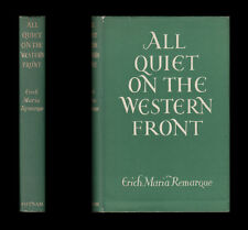 Erich Maria Remarque ALL QUIET ON THE WESTERN FRONT German Army 1954 H/B Edition
