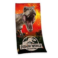Jurassic World BADETUCH SAUNA HANDTUCH VELOURSTUCH 75 x 150 cm Geschenk NEU WOW