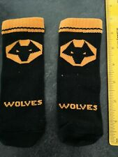 Wolves 3-6 Months Baby Socks BN Wolverhampton Football Club Baby Shower Xmas