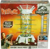Kerplunk! Raptors Jurassic World Kids Interactive Game Mattel