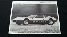 Original Monteverdi hai 450 GTS Extra Large Übergröße 25x35cm Prospekt Brochure