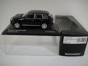 --1/43 MINICHAMPS. PORSCHE CAYENNE TURBO. 2002 Black