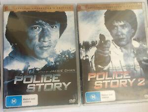 POLICE STORY 1 & 2 = NEW R4 DVD