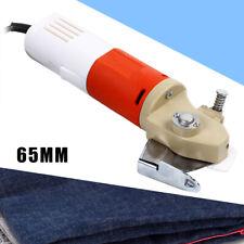New listing Electric Portable Fabric Cutting Machine Cloth Cutter 65mm Round Scissors Blade