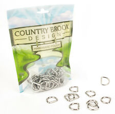 25 - Country Brook Design® 5/8 Inch Welded D-Rings
