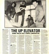 17/1/1981Pg22 Article & Picture, The Frantic Elevators