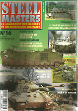 STEEL MASTERS N° 16 INSIGNES PZD / B1 BIS  DE LA 2e DCR / TIGER II / LVTP-5