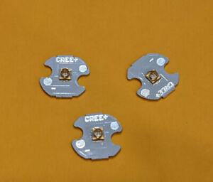 3pcs 3W 3535 High Power LED UV Ultraviolet Light 365-370nm Bead Chip 16MM PCB